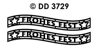 DD3729 Frohes Fest (Golf)