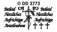 DD3773 Aufrichtige Anteilnahme