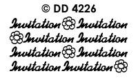 DD4226 Invitation (DD2226)