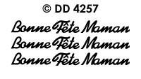 DD4257 Bonne Fete Maman