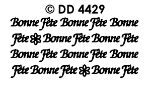 DD4429 Bonne Fete