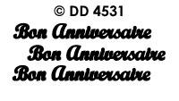 DD4531 Bon Anniversaire