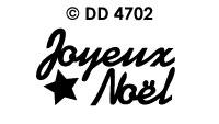 DD4702 Joyeux Noel