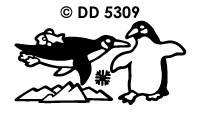DD5309 Pinguins/ ijsberg