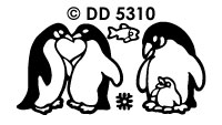 DD5310 Pinguins/ Familie