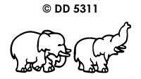 DD5311 Olifantjes