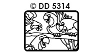 DD5314 Papegaaien