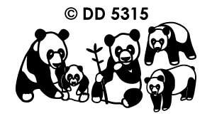 DD5315 panda beren