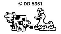DD5351 Boerderij dieren