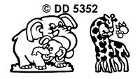 DD5352 Dierenfamilie (Zoo)