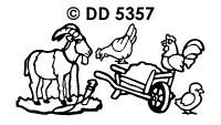 DD5357 Boerderijdieren