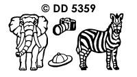 DD5359 Safari Animals (2)
