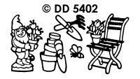 DD5402 Garden & Chair