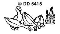 DD5415 Eenden Vliegend