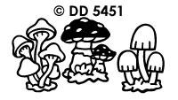 DD5451 Paddestoelen (Groot)