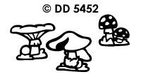 DD5452 Paddestoelen (Klein)
