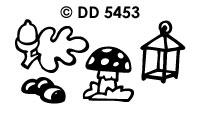 DD5453 Herfst &Herfstbladeren