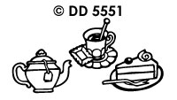 DD5551 Cup Of Tea/ Cake