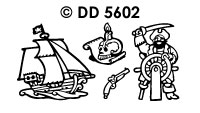 DD5602 Piraten Boot