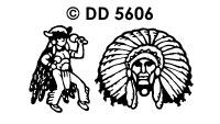 DD5606 Indianen Dorp