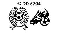 DD5704 Voetbal & Trofee