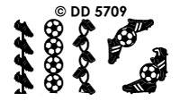 DD5709 Voetbal randje