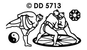 DD5713 Sumo Worstelen