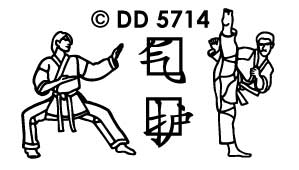DD5714 martial arts mix