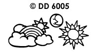 DD6005 Zon & Wolken