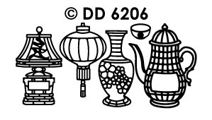 DD6206 typical oriental objects