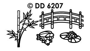 DD6207 orientaalse tuin