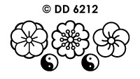 DD6212 bloem ornament