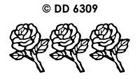 DD6309 Rozen/ Veel