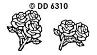 DD6310 Rozen Boeket