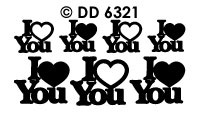 DD6321 I Love You
