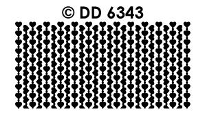 DD6343 Flexible hartjes randjes