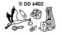 DD6402 Geboorte Wieg