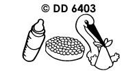 DD6403 Geboorte Beschuit