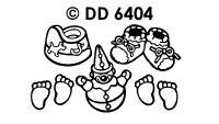 DD6404 Geboorte Voetjes