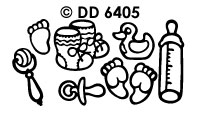 DD6405 Geboorte (Draaikaart)