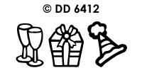 DD6412 Verjaardag (Draaikaart)