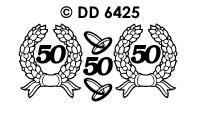 DD6425 Krans & Ringen 50 Goud