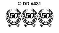 DD6431 Kransjes 50 Goud