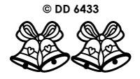 DD6433 Huwelijks Klokken