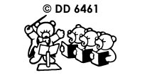 DD6461 Muziekberen Piano