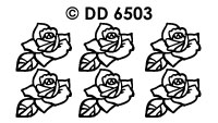 DD6503 Roosjes Veel