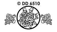 DD6510 Roses (Twister Card)
