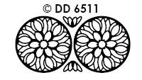 DD6511 Tulpen Mandala