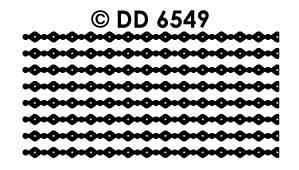 DD6549 Fijn randje dik dun