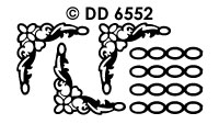 DD6552 Hoekjes & Kaders Ketting Fijn